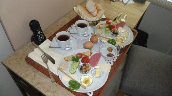 Maproom: Petit déjeuner