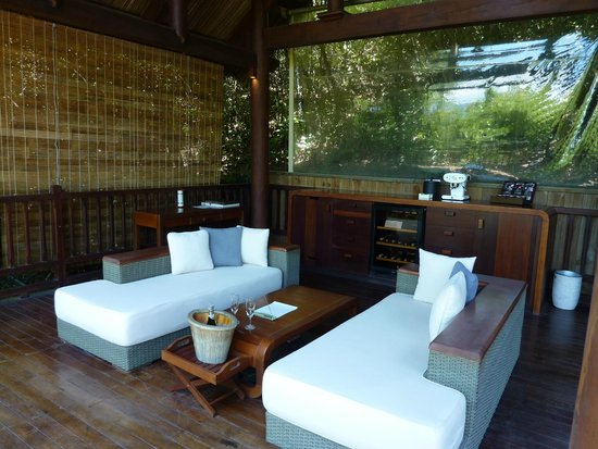 "L'Alyana Villas Ninh Van Bay: The ""living room"""