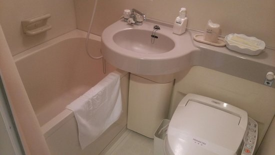 Hotel Crown Palaice Aomori: ユニットバス