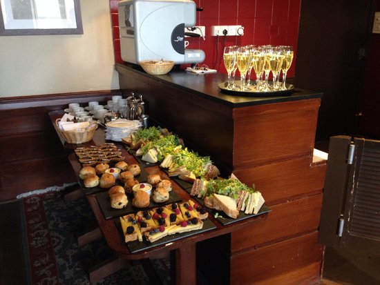 Scotland's Hotel & Spa : The fab afternoon tea