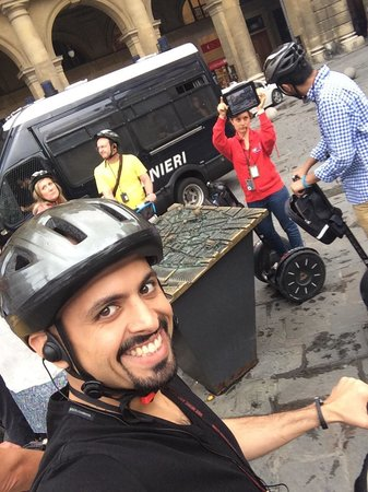 Italy Segway Tours: With the best tour guide ever .. Thank you Angela