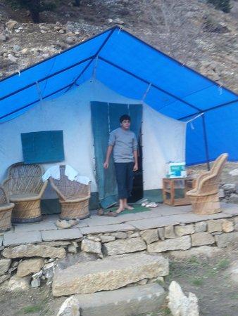 Kinner Camp Sangla: Tent accommodation