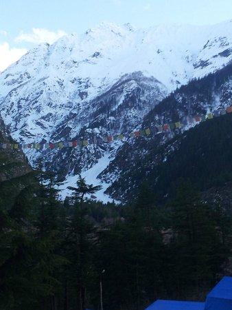 Kinner Camp Sangla: Snow peak