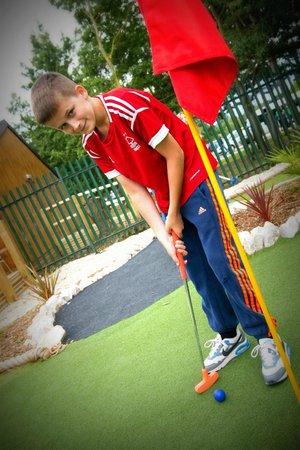 Holme Pierrepont, UK: Mini Golf
