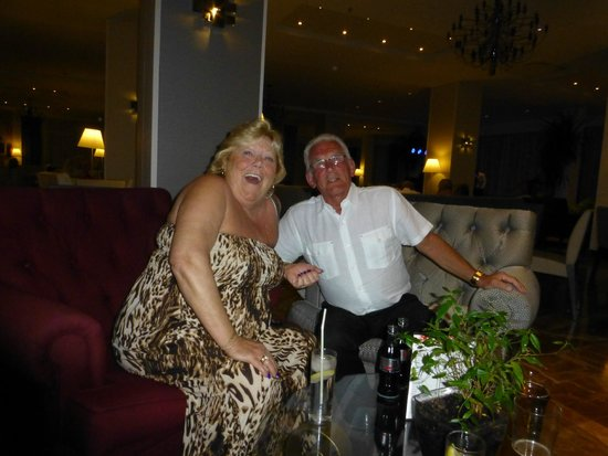 Angela Hotel: I think the G&Ts have taken hold!