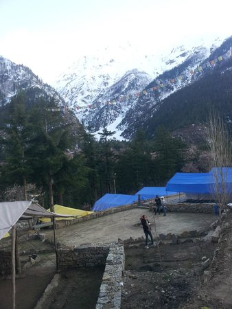 Kinner Camp Sangla: Camp View from the top