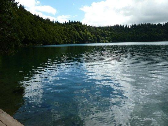 Lac Pavin : Vue d'ensemble du Lac