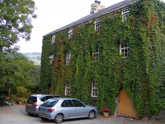 Eglwysbach, UK: The front of the converted mill