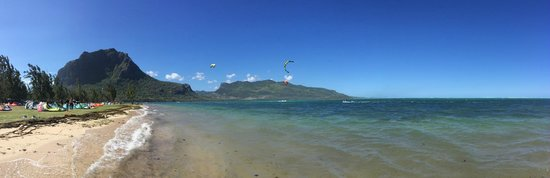 Le Morne Kite School: Le terrain de jeux, Le Morne