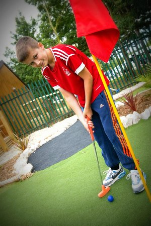 National Water Sports Centre: Mini Golf