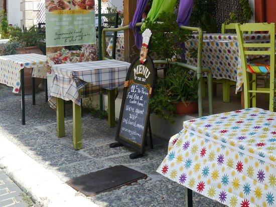 Vegera : Taverna Vegara, Zaros, Crete