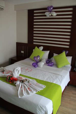 Golden Land Hotel : Nuestra habitación