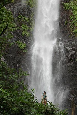 Aditya Homestay: Laangan Waterfall