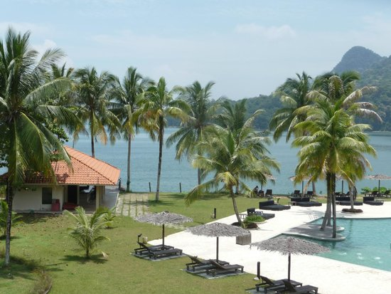 Damai Puri Resort & Spa: View from room of South China sea
