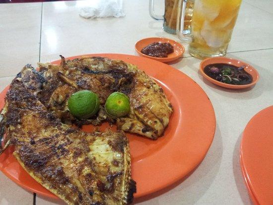 212 Wiro Sableng : grilled kuwe fish