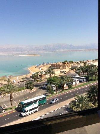 Prima Oasis Dead Sea: vista dalla finestra
