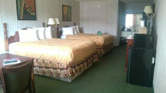 Angel Inn - Near IMAX: nice roomy accomidations