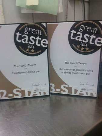 Punch Tavern : Award-winning pies from the Great Taste Awards 2014