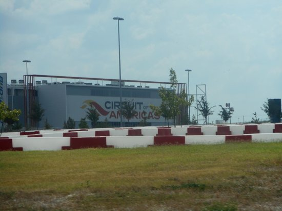 Circuit of The Americas: Main Grandstand