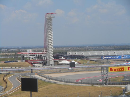 Circuit of The Americas: Tower from Turn 1