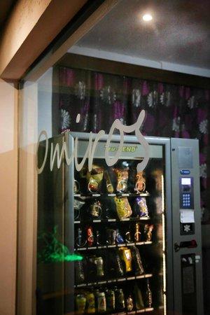 Omiros Hotel : Vending machine