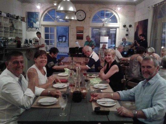 Le Bistrot Verticalle: The Edinburgh crew in the Le Bistro
