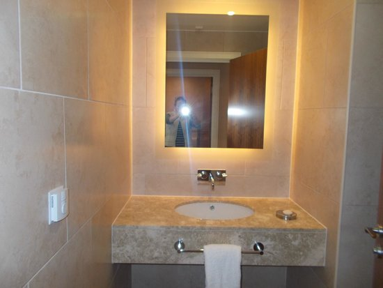 The Grand Hotel & Spa : separate wc and sink