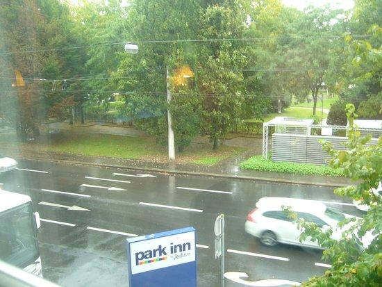 Park Inn by Radisson Linz: Viw from my Window
