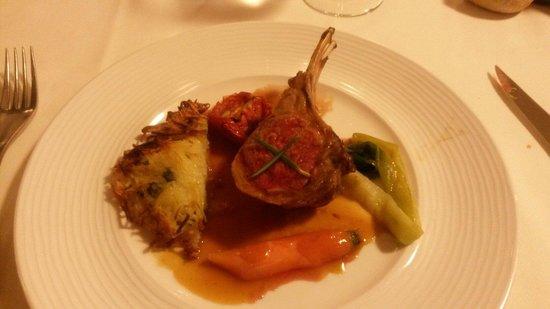 Restaurant La Forêt : Carré d'agneau