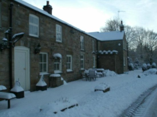 The Blacksmiths Hartoft: A great place to get snowed in - unfortunately the road was cleared !