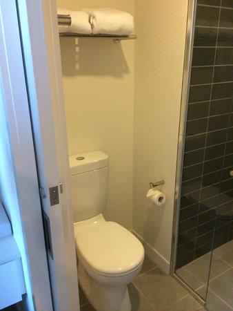 Citadines on Bourke Melbourne: clean toilet