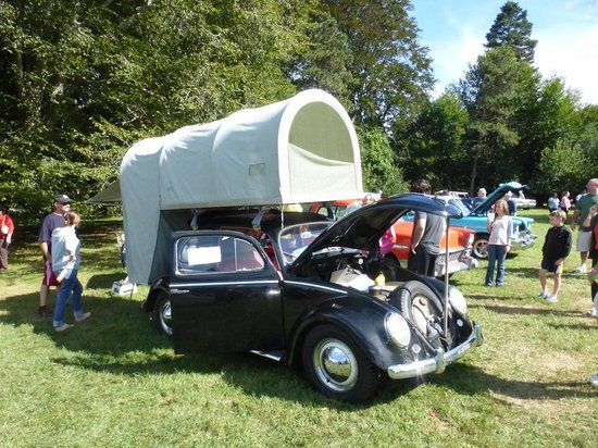 VW With Optional Camper At Hagley Car Show Picture Of Hagley - Wilmington car show