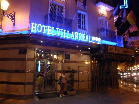 Hotel Villarreal : ingresso hotel