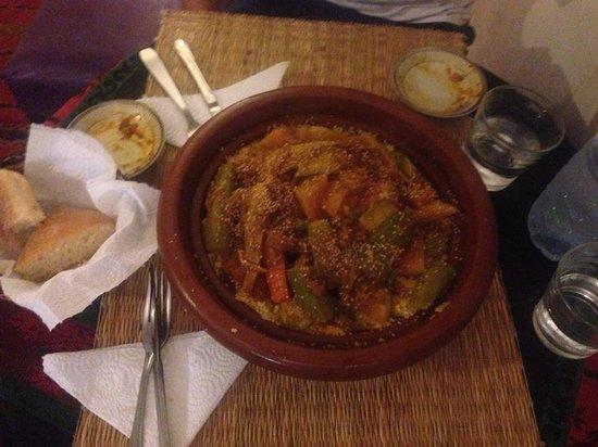 Restaurant Naima: Couscous für zwei