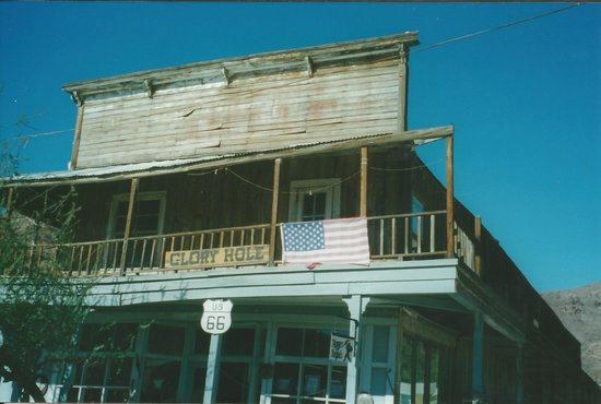 Oatman Stables: We had a refreshing drink here in 2002 and I think it's the old hotel where Clarke Gabel and Car
