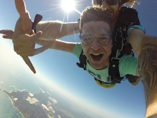 Skydive Jurien Bay Perth: Woo Hoo!!