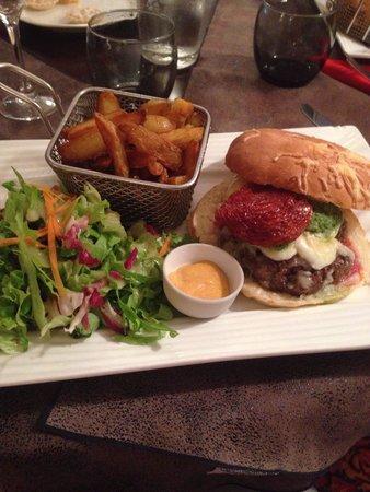 La Diligence : Hamburger
