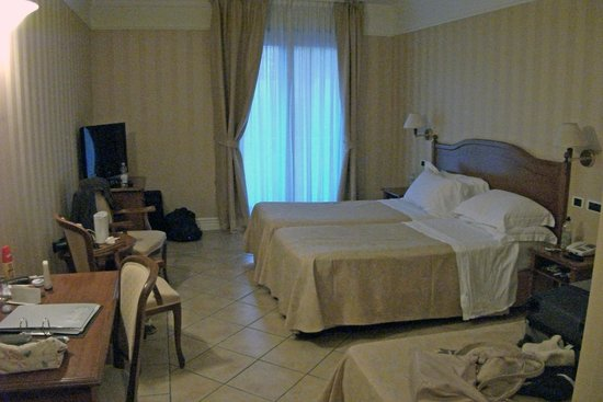 Dioscuri Bay Palace Hotel: Our Room (142?)