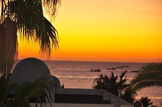 Punta del Cantal Hotel: Amanecer en Mojácar desde el hotel