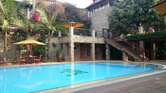 Fairview Hotel: Stunning pool area