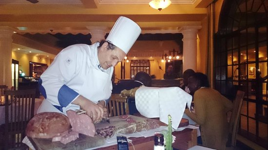 Fairview Hotel: The outstanding Italian Chef