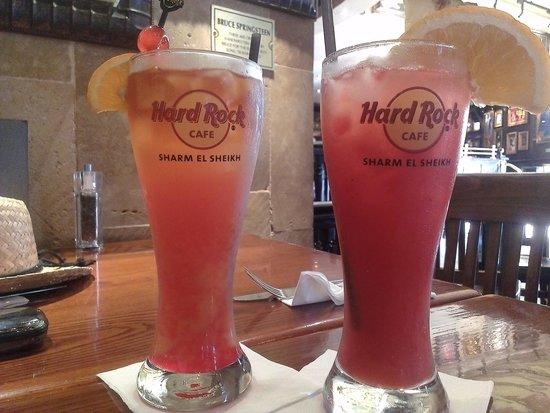 Hard Rock Cafe Sharm El Sheikh : Cocktails!