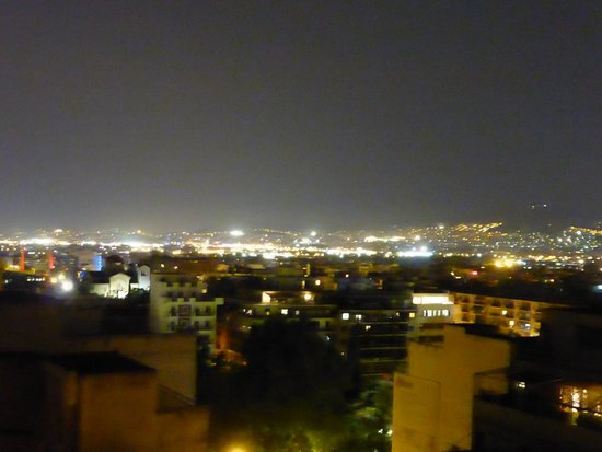 Evripides Hotel: City view from the roof terrace