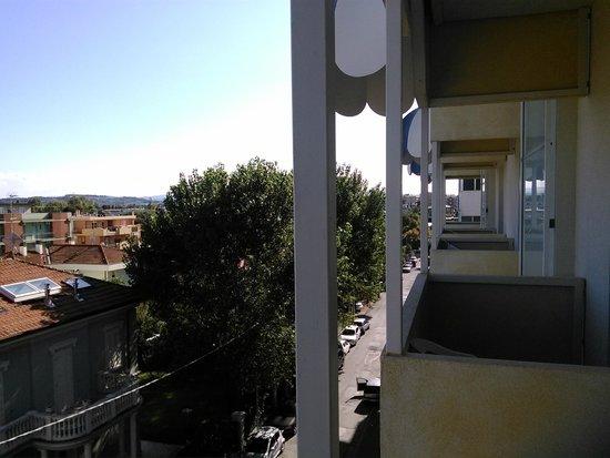 Ambienthotels Panoramic: Балконы в гостинице