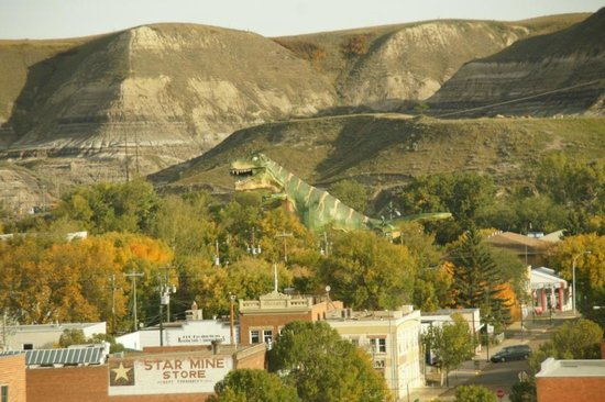 Quality Hotel Drumheller: View from room