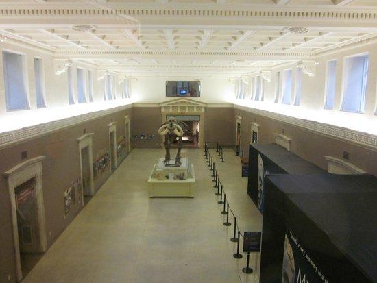 Buffalo Museum of Science: The main hallway