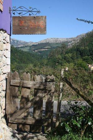Hotel El Buho de la Remolina: Vistas desde la entrada