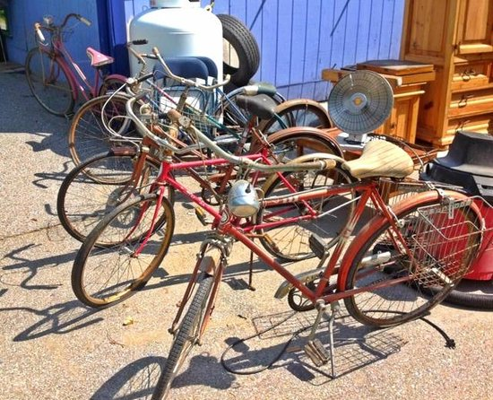 Montpellier, VT: Vintage Bicycles!