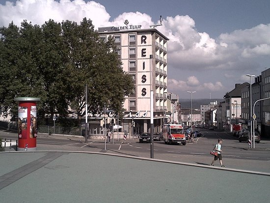 Golden Tulip Kassel Hotel Reiss: Днём