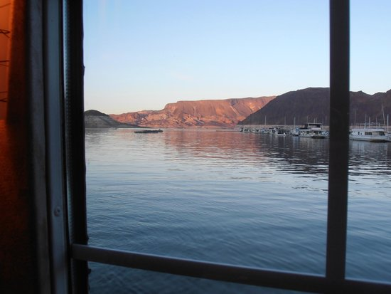 Lake Mead Dinner Cruise (All Las Vegas Tours): View from inside